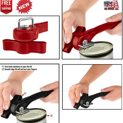 Multifunction Stainless Steel Safety Side Cut Manual Can Tin Bottle Can Opener