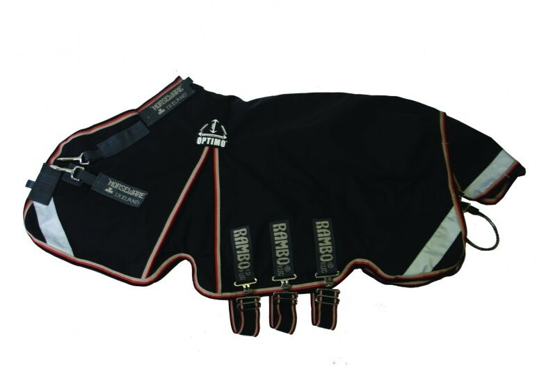 Horseware Rambo Optimo Turnout Outer Only, ultimative Bewegungsfreiheit, 0g lite