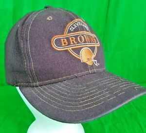 996bbe038d6 Image is loading Vintage-Cleveland-Browns-Sports-Specialties-Circle-logo-Hat -