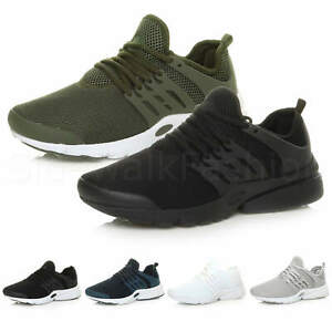 Mens-lace-up-sports-casual-low-top-gym-running-flexible-sneakers-trainers-size