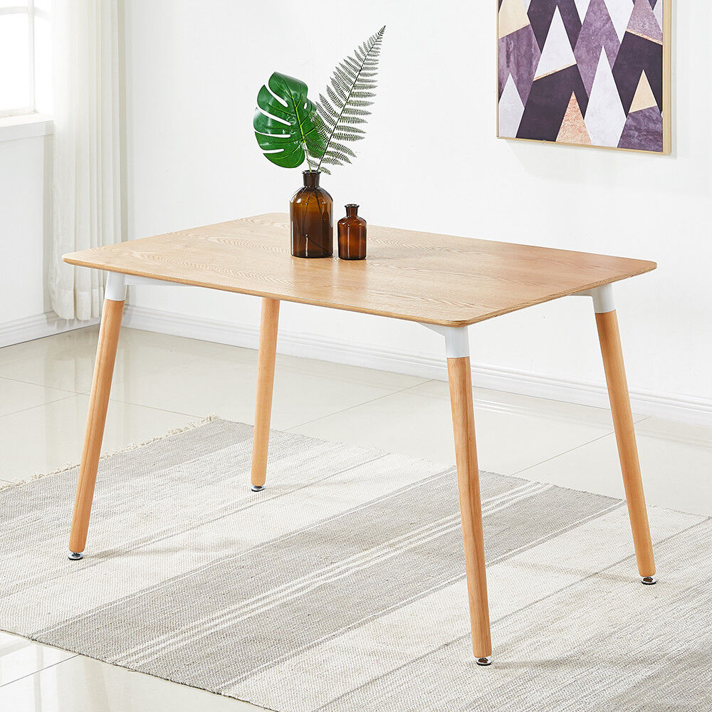 Halo Rustic Wooden Dining Table Retro