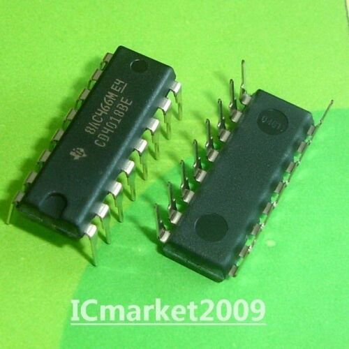 50 PCS CD4018BE DIP-16 CD4018 CMOS PRESETTABLE DIVIDE-BY-N COUNTER