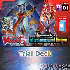 G-TD01: Awakening of the Interdimensional Dragon-Cardfight Vanguard G Trial Deck