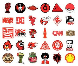 Details Zu Sticker Bombing Aufkleber Bunt Marken Skate Logo Supreme Laptop Decal Vinyl 3