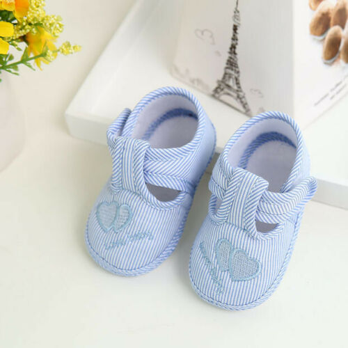 Toddler Infant Kids Baby Girl Boys Crib Shoes Newborn Infant Sneakers Prewalkers