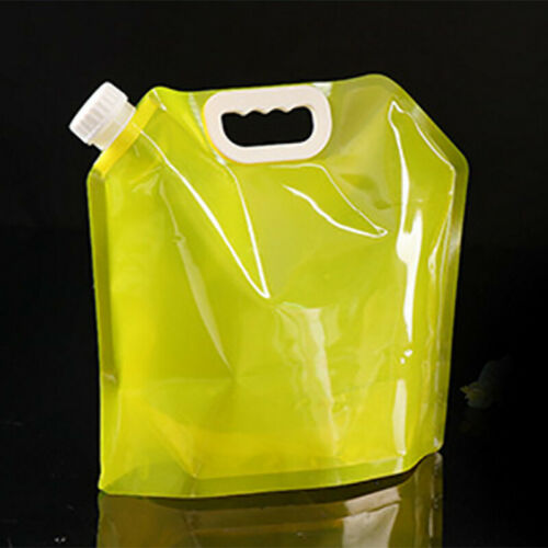 5//10L Folding Drinking Water Bucket Camping Hiking Water Container Storage Bag