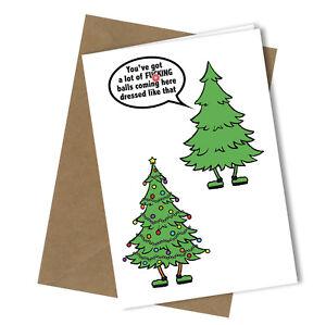371 christmas card rude greeting card funny humour joke christmas image is loading 371 christmas card rude greeting card funny humour m4hsunfo