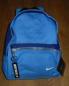 42861cdcbb Image is loading Nike-YA-Just-Do-It-Blue-Mini-Backpack