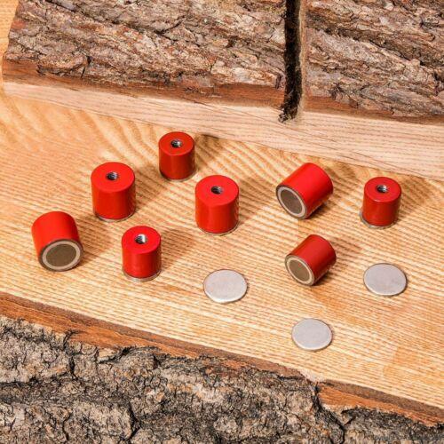 Deep Pot Magnets-Lot de 8