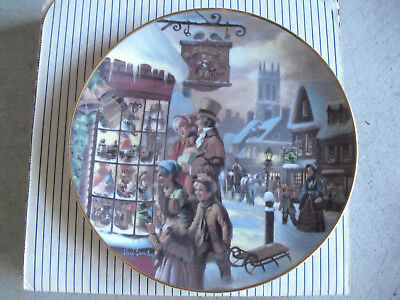 Scenes of Christmas Past THE HOMECOMING Lloyd Garrison Holiday Family PLATE