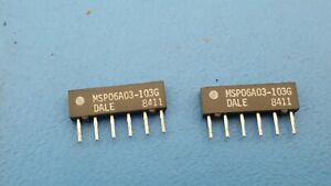 Resistor Networks /& Arrays 10K 10Pin 2/% Isolated 100 pieces