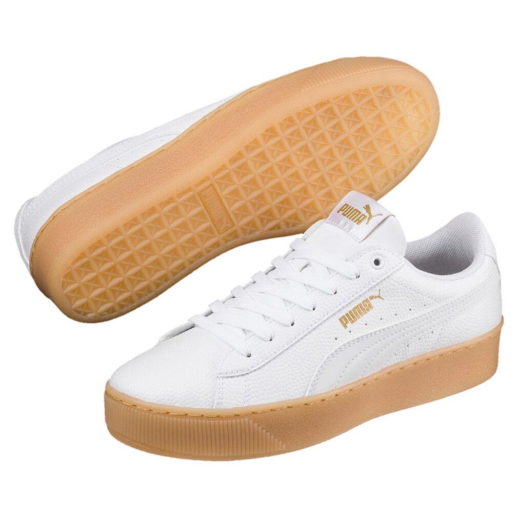 Puma Vikky Platform VT Sneaker Women's shoes 366805 01 White