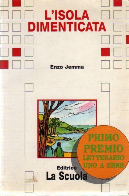 @G4 L'isola dimenticata Enzo Jemma editrice La Scuola 1998