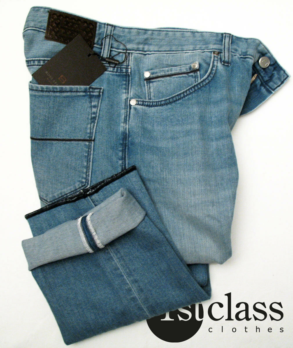 Boss Selection Jeans New Jersey 32 34 in Light bluee Soft Stretch