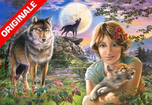 1000 Gioco Svago Passatempo Animali Foresta Regalo 024 CST1000 PUZZLE LUPI PZ
