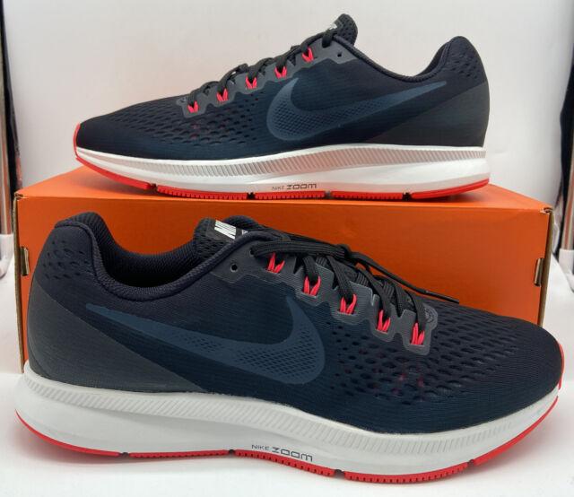 Actual aplausos contrabando  Nike Air Zoom Pegasus 34 Running Shoe Gym Blue/blue Nebula 12 for sale  online   eBay