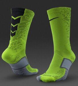 61a0544523b0 Nike Elite Match Fit Hypervenom Crew Socks (Yellow) - UK 13-3 (EUR ...
