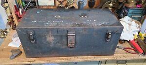 RARE Vintage GRUMMAN Aviation Tool Box Bethpage NY Aircraft Mechanics 21 H