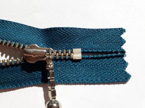 Zip Metal Size 3 Indivisible Div Colours YKK Opti Zipper Молния 22-23cm