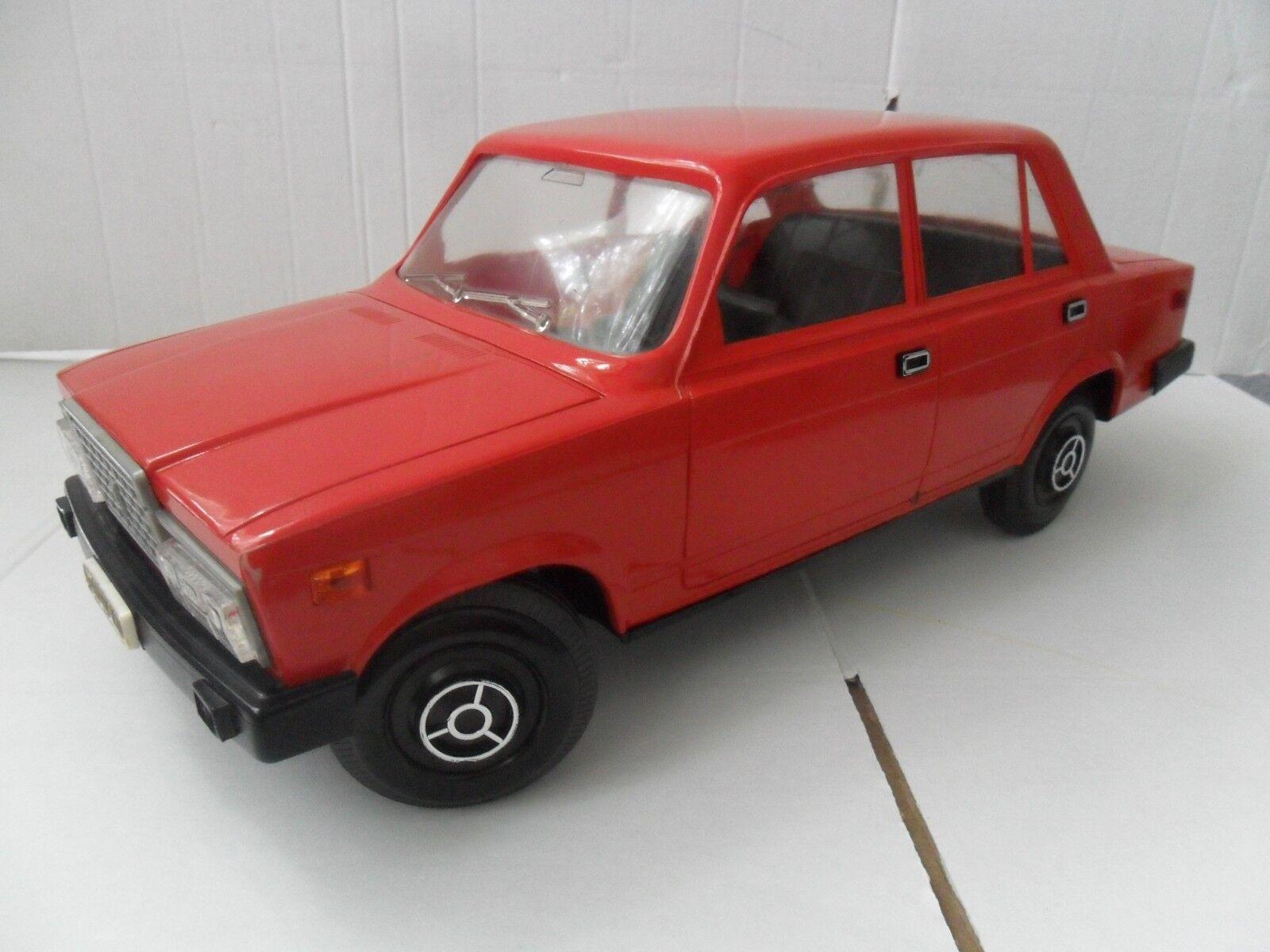 Vintage - sowjetischen udssr spielzeug - auto vaz lada 2107 im maßstab 1  8 jiguli selten.