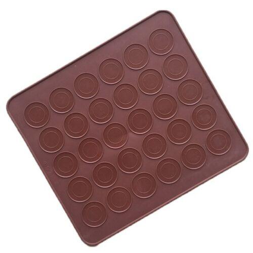 Macaron Macaroon Baking Mold Silicone Sheet Mat