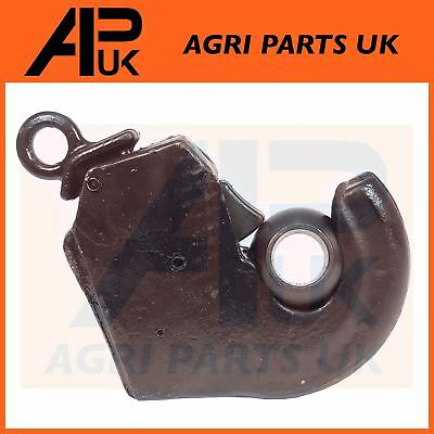 WITH GUIDE CONE FOR TRACTORS. LOWER LINK ARM QUICK RELEASE BALL CAT 2//2
