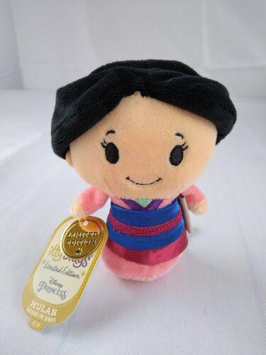 Mulan Itty Bittys Plush Stuffed Doll Figure Disney Princess Hallmark NEW