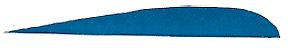 "Trueflight Blue 2 1//2/"" RW Feathers"