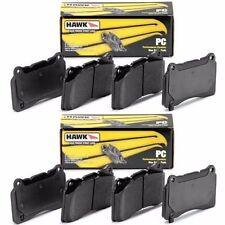 Hawk Ceramic Brake Pads (Front & Rear Set) for 10-13 C6 Corvette Grand Sport