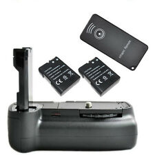 Battery Grip For Nikon D3100 D3200 D5100 +2x Decoded Battery +Remote