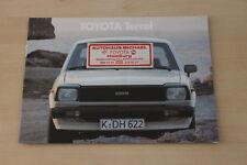 155060) Toyota Tercel Prospekt 11/1979
