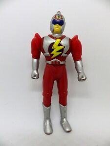 Vintage-pvc-figurine-flash-red-similar-power-rangers-12-cm-articulated-action-figure