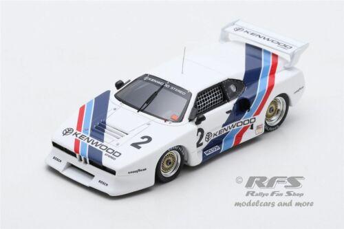 BMW M1 Gr.5  Hans-Joachim Stuck David Hobbs  6h Mosport 1981  1:43  Spark US 043