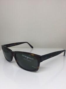23fceee89676 New Vintage Emporio Armani Sunglasses EA 580 Dark Tortoise C. 063 Italy