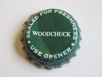 VERMONT Green Mountain Bev WOODCHUCK DRAFT CIDER Middlebury CROWN Bottle CAP