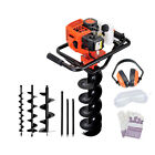 Giantz 88cc Petrol Post Hole Digger Earth Drill Borer Fence Extension Auger Bits