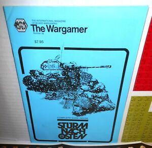 BOARD-WAR-GAME-Mag-Wargamer-19-Sturm-Nach-Osten-1941-45-op-East-Storm-1982-UNP