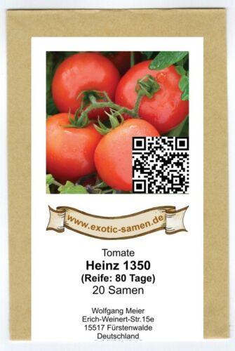 Pomodoro-Heinz 1350-Spazio fisso-malattia resistenti-medio precoce 20 semi