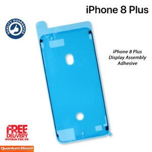 Blanco-Nuevo-IPHONE-8-Plus-Montaje-para-Pantalla-Impermeable-Adhesivo