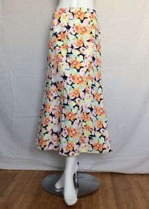 Women's Talbots Long Floral A-line Skirt Size 16 | eBay