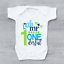 Little-Mr-One-Derful-Cute-1st-First-Birthday-Boys-Baby-Grow-Bodysuit thumbnail 1