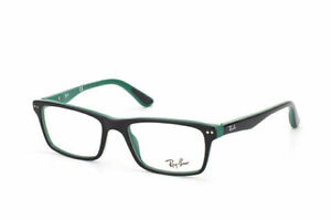 New Ray Ban RB 5288 5138 Top Black on Green Men Women Eyeglasses 50mm - 33