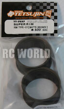 RC Car 1/10 DRIFT WHEELS RIMS Adjustable Offset  3mm-6mm-9mm -BRONZE LIP 4 RINGS