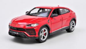 Welly-1-24-Lamborghini-URUS-Red-Diecast-MODEL-Racing-SUV-Car-NEW-IN-BOX