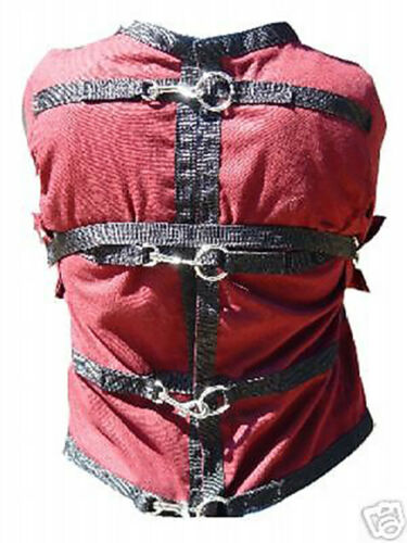 Restraint Strait  Straight Jacket   burgundy 5XL