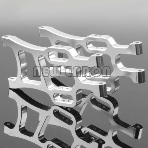 Silver Aluminum Rear Lower Suspension Arm 108021 HSP 1//10 RC CAR 08006 Upgrade