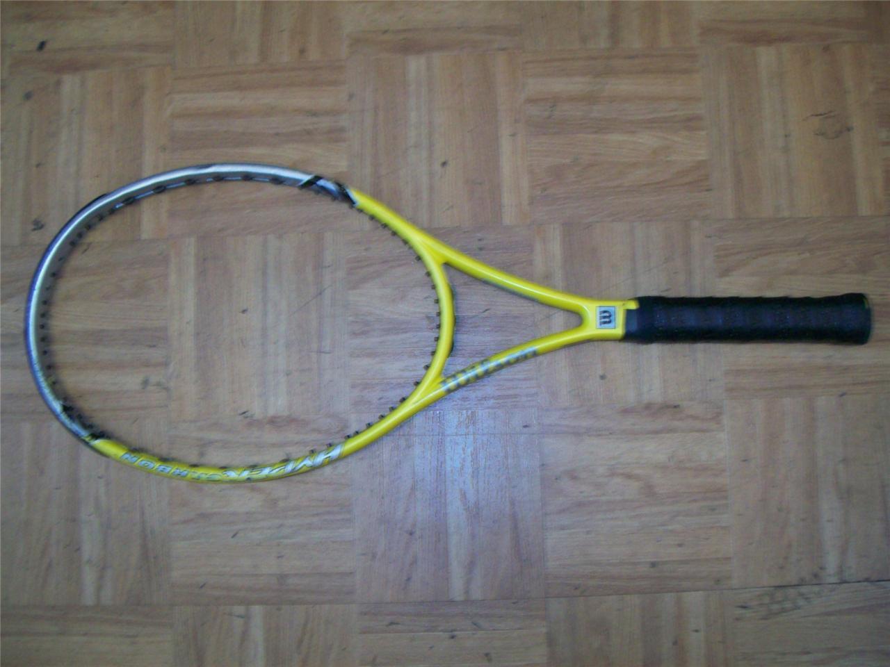 Wilson Hyper Hammer 6,6 Midplus 98 4 3  8 Grip Tenis Raqueta  solo para ti