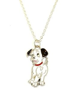 101 dalmatians dog charm pendant necklace in gift bag dalmation image is loading 101 dalmatians dog charm pendant necklace in gift aloadofball Gallery