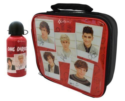 One direction 1D polaroid école sac à lunch et//ou aluminium bouteille neuf cadeau