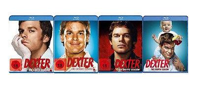 16 Blu-rays  *  DEXTER - STAFFEL / SEASON 1 - 4  IM SET  #  NEU OVP +